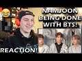 Namjoon being done with BTS' english! REACTION!