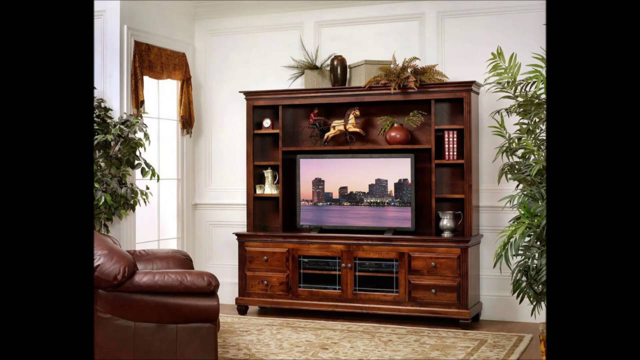 Simple Entertainment Center Design Ideas   YouTube