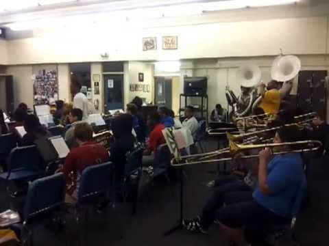 Washington High School Band - Young Wild and Free