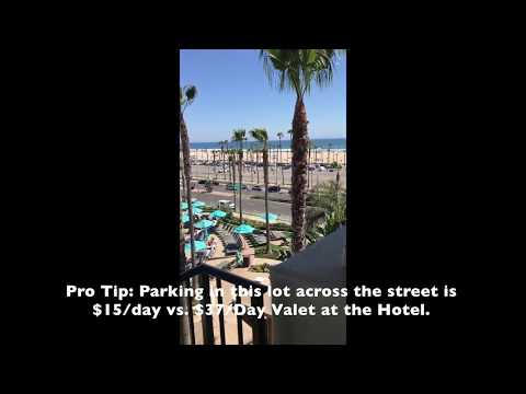 Hyatt Regency Huntington Beach, CA Resort And Spa: King Room Tour: Room 4247