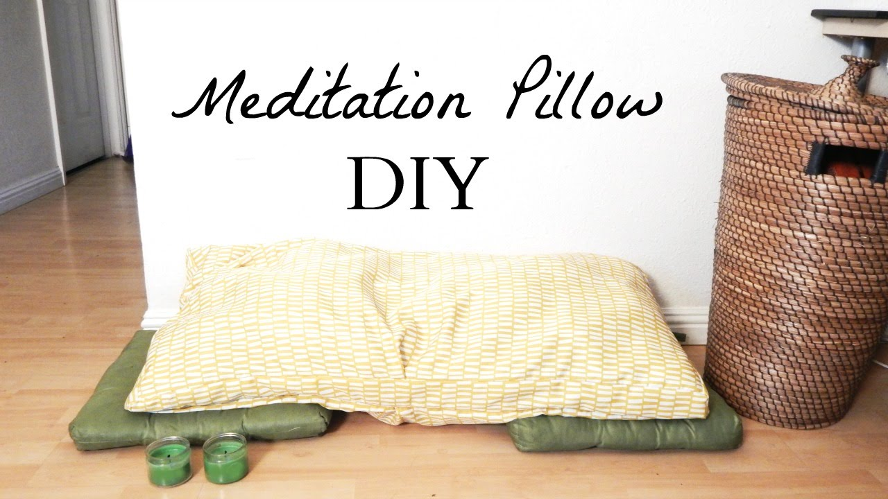 How to Make A Meditation Pillow- Easy Minimalist Home Decor DIY Idea ...