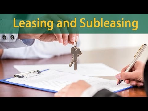 04  Leasing and Subleasing (Conversations about Landlord Tenant Law in  Alaska)