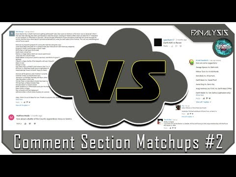 Fanalysis Lite - Comment Section Matchups #2