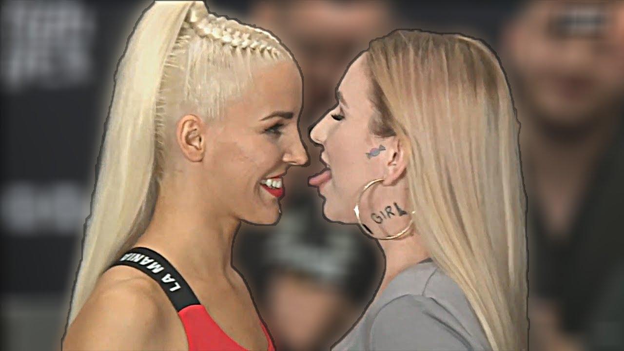 LIL MASTI VS LINKIEWICZ - NAJLEPSZE MOMENTY -2 KONFERENCJA FAME MMA 4!! *chciały się całować*????