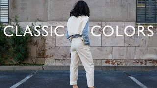Classic Color Combinations Tнat Always Look Chic - How To Wear Light Blue