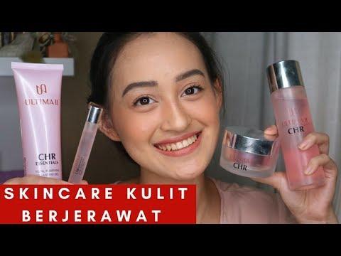REVIEW SKINCARE UNTUK KULIT BERJERAWAT : ULTIMA II CHR ESSENTIALS | Nadya Aqilla | Indonesia