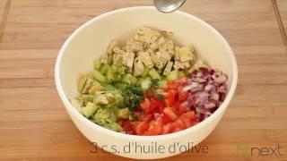 Recette de salade méditerraneenne - Fitnext.com