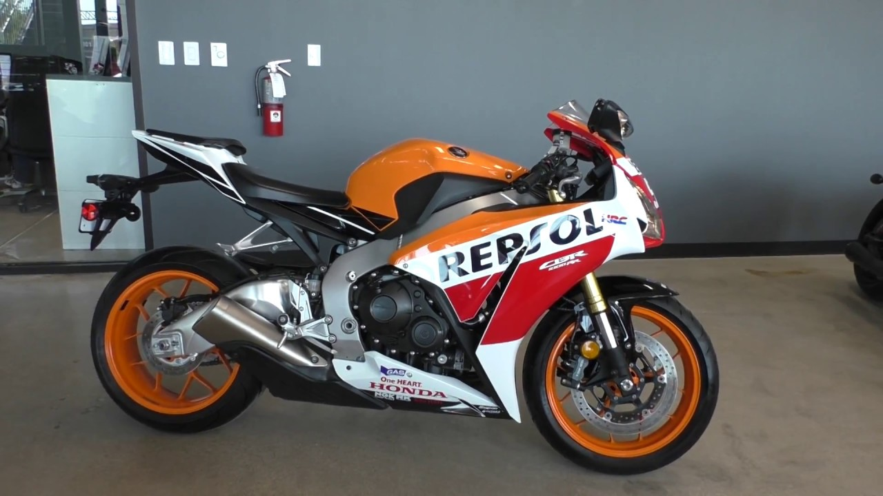 700166 2015 Honda Cbr1000rr Repsol Used Motorcycles For Sale Youtube