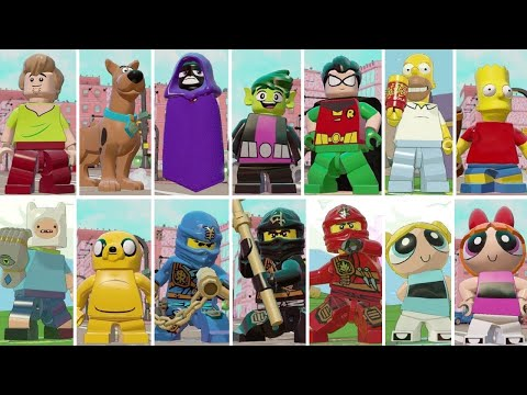 All Playable Cartoon Characters in LEGO Dimensions