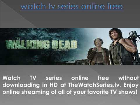 Watch TV Series Online Free Streaming | TV Shows | WatchSeries