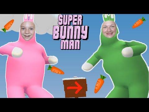 Попробуй не засмеяться! СМЕШНЫЕ КРОЛИКИ! Super Bunny Man