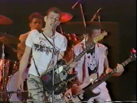 The Clash live San Bernardino 1983