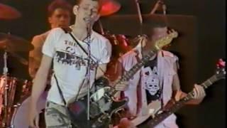 The Clash live San Bernardino 1983