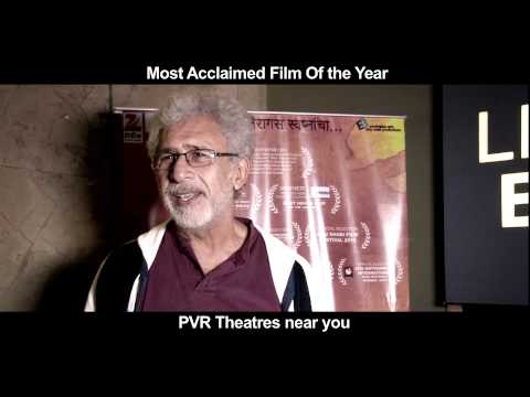 Naseeruddin Shah gets emotional after watching Fandry