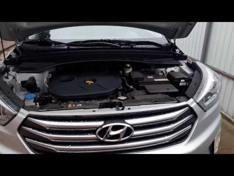 декор двигателя Hyundai Creta