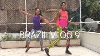 Brazil Travel Vlog 9 | IVHQ | Zumba | Dance | Leaving Rio de Janeiro