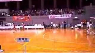 春の全国中学生ハンドボール選手権大会2008 男子決勝1