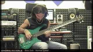 Giorgio Terenziani - Unbreakable - Bass Solo - Standard&Slow Version
