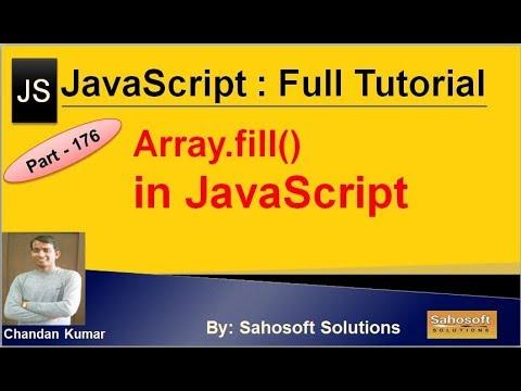 Array.fill() in JavaScript | JavaScript Full Tutorial in Hindi thumbnail