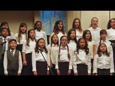 Faith's elementary  choir @ Faith Baptist Schools
