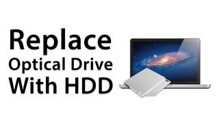 [How To] Replace Optical Drive With HDD / SSD MacBook Pro 2012 - Caddy Installation