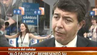 Historia del celular en Chile. Canal 13.