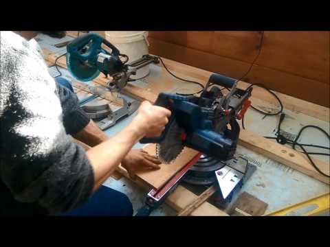 makita ls1018l unboxing and first run doovi. Black Bedroom Furniture Sets. Home Design Ideas