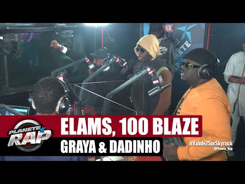 Youtube: Elams feat. 100 Blaze, Graya & Dadinho«S'en aller» #PlanèteRap