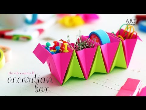 Accordion Box | Paper Folding | Do It Yourself