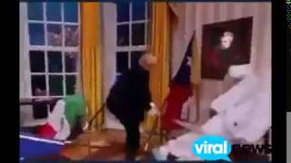 Reaction of president trump on UN voting//