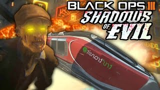 "Black Ops 3 ZOMBIES - NEW Zombie TRAIN! ""SHADOWS OF EVIL"" Transport System Revealed! (BO3 Zombies)"