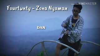 Fourtwnty - zona nyaman (cover)