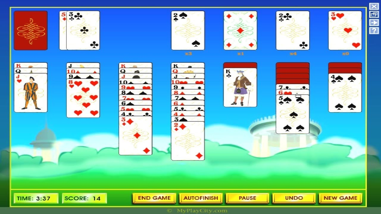 Flash Games Solitaire