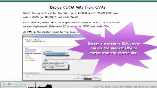 day 2 cucm cuc im and uccx cluster installations deploy vms from ovas