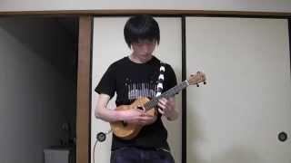 Repeat youtube video Canon Rock (Ukulele cover) by Kazuki