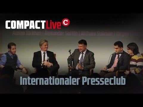 Internationaler Presseclub -- Obama: Wie Bush oder wie Kennedy - COMPACT Live