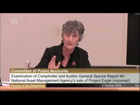 Catherine Connolly: PAC Qs to Noonan on Project Eagle Report 06 10 16