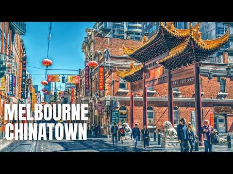 Chinatown Melbourne To Flinders Street Melbourne Walking Tour【2019】