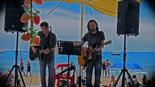 Ali & Che @ Chiringuito Bar, Playa de Cabo Roig; 17.04.2016