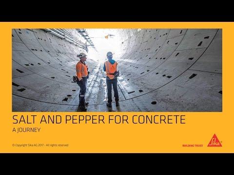 Salt and Pepper for Concrete
