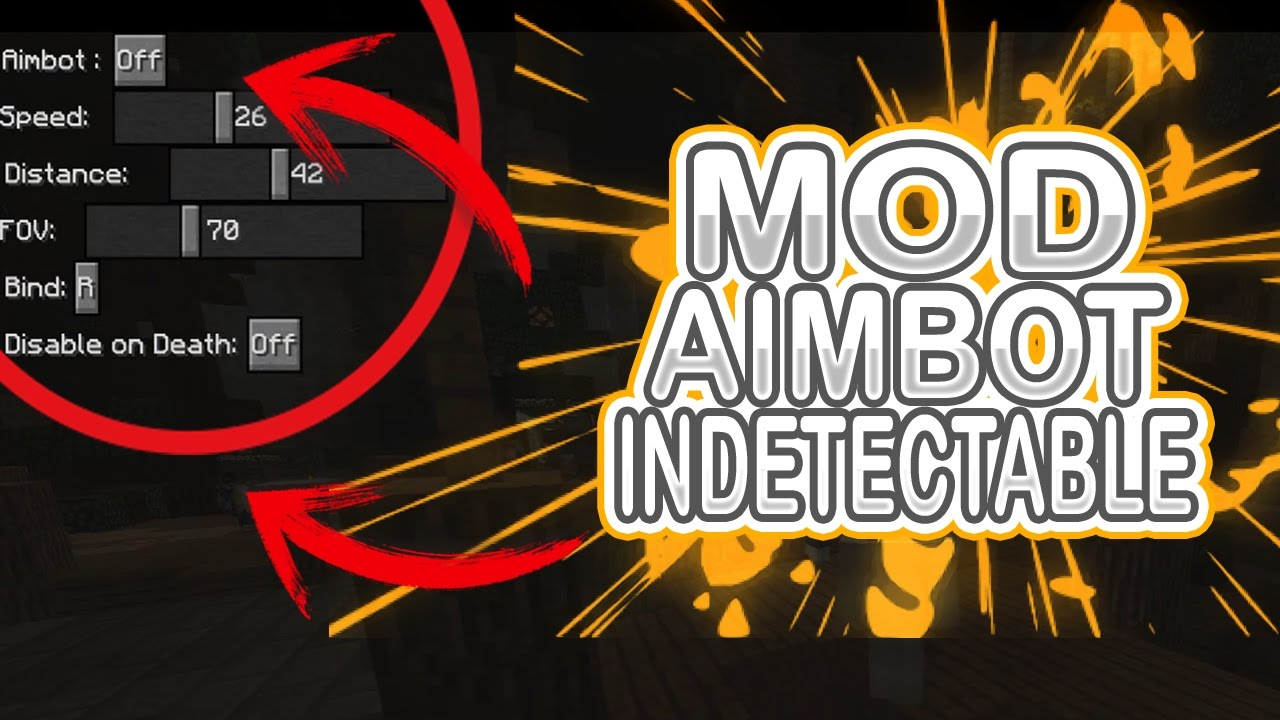 forge 1.8.9 bow aimbot mod