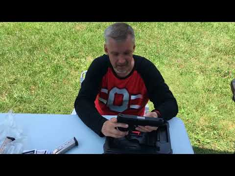 Ruger American Pistol .45 ACP Unboxing And Firing .