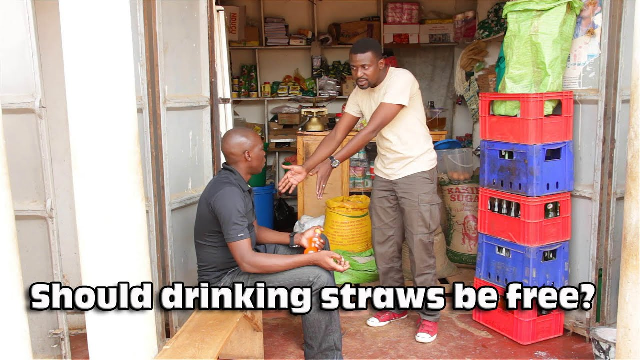 FUNNY RESPONSE TO A CUSTOMER. (Comedy made in Africa)
