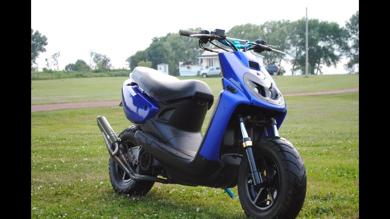 Обзор | Yamaha BWS 100 | На дисках Aerox - YouTube