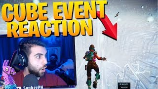 SypherPK Gets The PERFECT Angle For The Cube Event (Fortnite Battle Royale) thumbnail