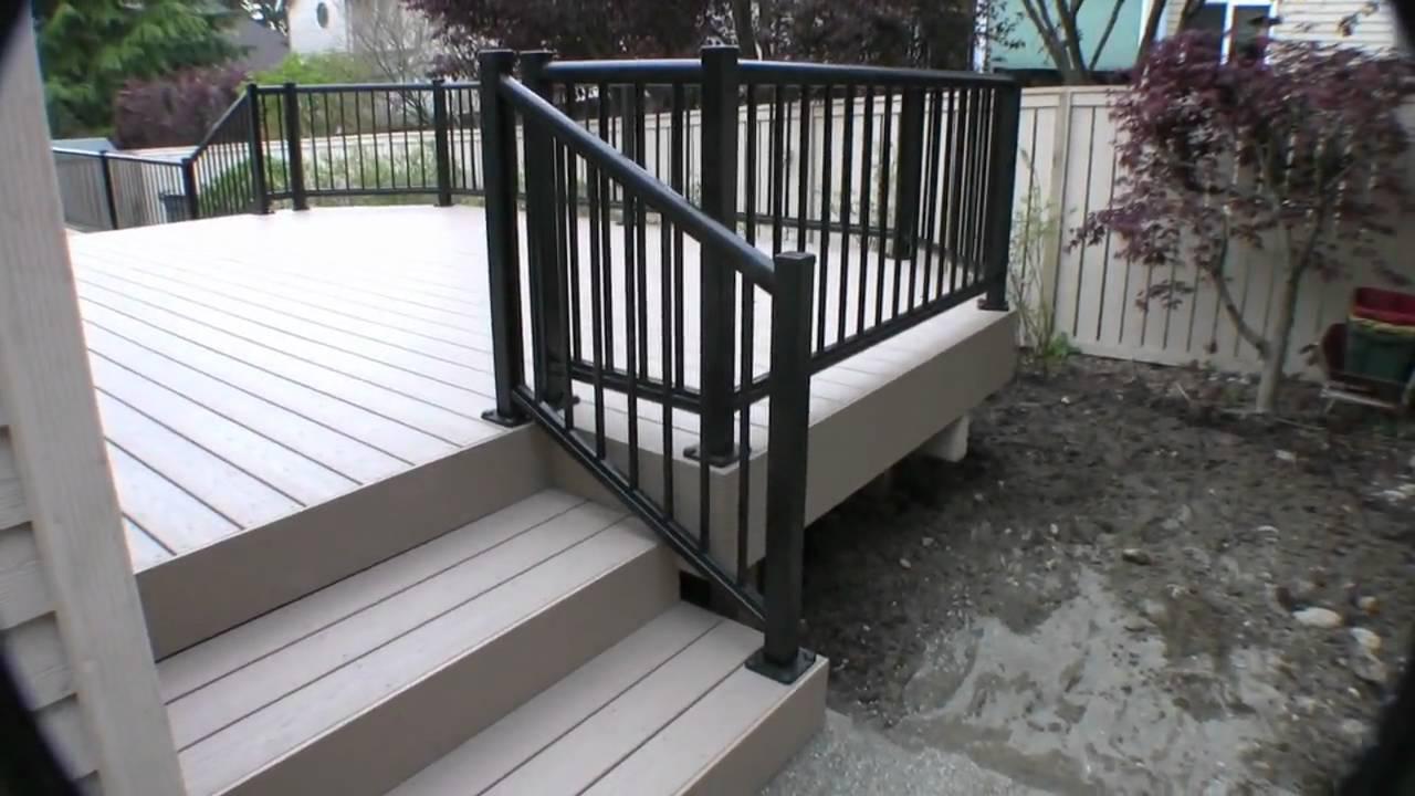Azek Deck And Paver Walkway Youtube