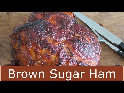 How to Bake a Ham - Brown Sugar Glaze -- The Frugal Chef