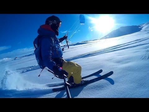 Haugastøl - Hardangervidda -SNOWKITING 2016 - SJCam SJ4000 WiFi