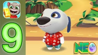 Talking Tom Gold Run: Gameplay Walkthrough Part 10 - Hawaiian Hank (iOS, Android)
