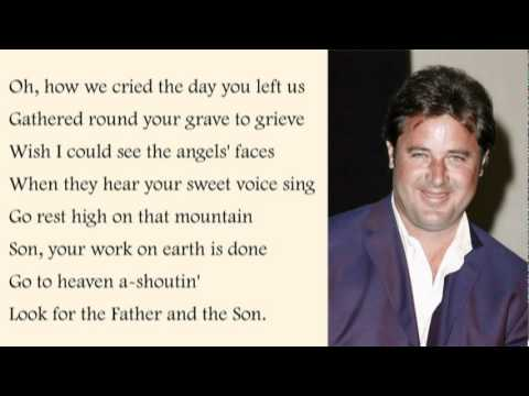 Vince Gill - Go Rest High On That Mountain with Lyrics - YouTube